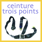 Ceinture 3 points