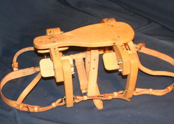 Bât Randoline Bâtinou pour ânes miniature