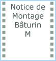 Icône notice de montage Bâturin M F