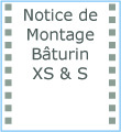 Icône notice de montage Bâturin XS & S F