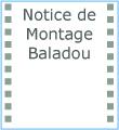 Icône notice de montage Baladou F